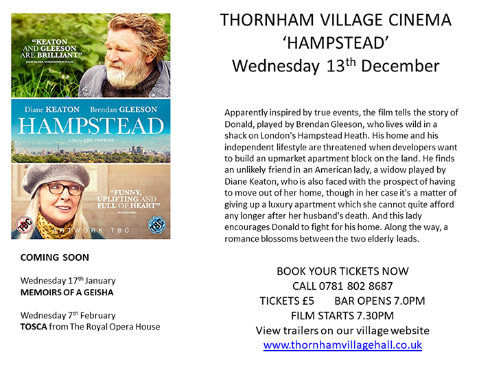 Thornham Village Cinema
